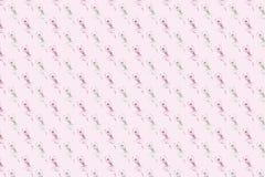 Fond dans des sons roses avec l'image du ballet Photo stock