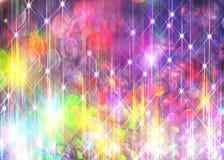 Fond de Ðœodern des rayons brillants colorés illustration de vecteur