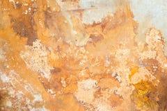 Fond de béton avec des taches de rouille Photo stock