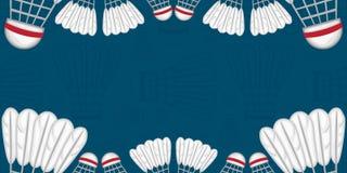 Fond de badminton - sport Photo stock