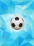 Fond de ballon de football de l'Argentine Images libres de droits