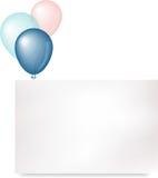 Fond de ballons à air Photo stock