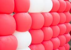 Fond de ballons Photos libres de droits