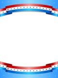 Fond de bannière étoilée Image libre de droits