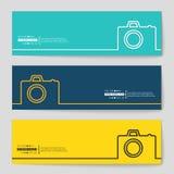 Fond de bannière de vecteur de concept Images stock