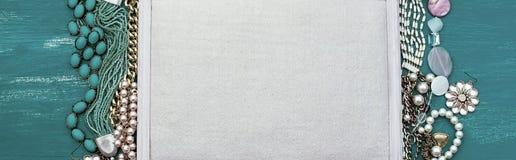 Fond de bannière pour le texte Photographie stock libre de droits
