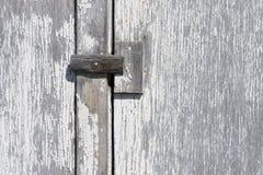 Fond de Barnboard de bois/de peinture affligée Image libre de droits