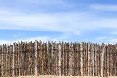 Barrière de coyote Photos libres de droits