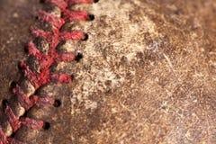 Fond de base-ball de cru Images libres de droits
