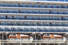 Fond de bateau de croisière Photographie stock libre de droits