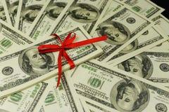 Fond de beaucoup de billets de banque d'argent liquide d'argent photographie stock libre de droits