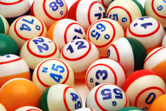 Fond de bille de bingo-test Photographie stock