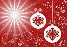 Fond de bille de Noël Image stock