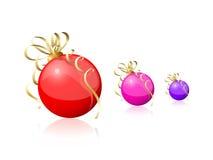 Fond de bille de Noël Photo stock