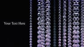 Fond de bille en cristal Image libre de droits