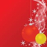 Fond de billes de Noël Photo stock