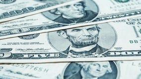 Fond de billets d'un dollar Photos stock