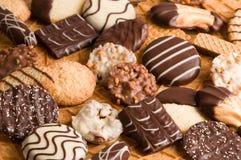 Fond de biscuit Photographie stock