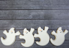 Fond de biscuit de Halloween photographie stock libre de droits