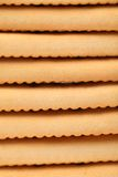 Fond de biscuit de soude de saltine d'enjeu. Photo stock