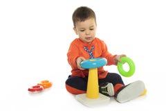 Fond de blanc de bébé Image libre de droits