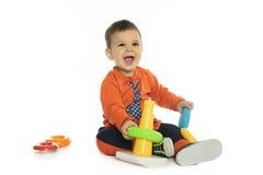 Fond de blanc de bébé Photos libres de droits