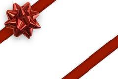 Fond de blanc de cadeau Image stock