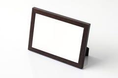 Fond de blanc de cadre de photo photos stock