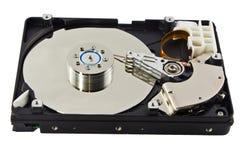 Fond de blanc de disque dur Photos libres de droits