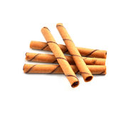Fond de blanc de snack-bars image libre de droits