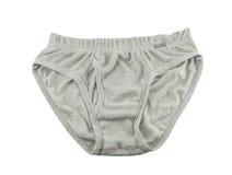 Fond de blanc de sous-vêtements Photographie stock libre de droits
