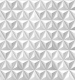 Fond de blanc de triangles et de pyramides Photographie stock libre de droits