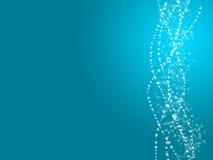 Fond de bleu d'ampoule Image libre de droits