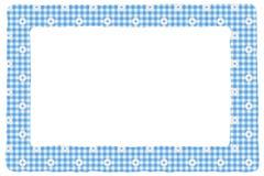 Fond de bleu de chéri pour votre message Images libres de droits