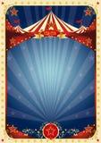 Fond de bleu de cirque Images stock