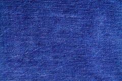 Fond de bleu vigoureux épais brut de denim Photo libre de droits