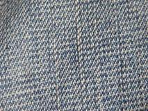 Fond de blues-jean avec les fils bleus et de blanc Image stock