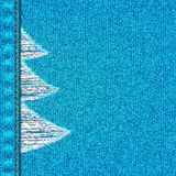 Fond de blues-jean Photo libre de droits