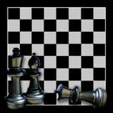 Fond de Boardgame d'échecs Photographie stock libre de droits