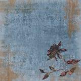 Fond de Bohème grunge floral d'album à tapisserie de cru image libre de droits