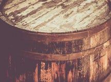 Fond de bois de baril, texture en bois photographie stock libre de droits