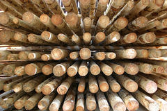 Fond de bois de construction Images libres de droits