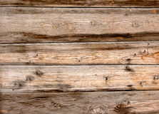 Fond de bois de construction Les vieux panneaux en bois grunges peuvent être Photos stock