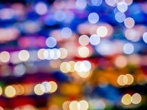 Fond de Bokeh de couleur Image stock