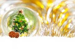 Fond de bokeh de Noël Photographie stock libre de droits