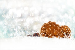 Fond de bokeh de Noël Photos stock