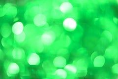 Fond de Bokeh de Noël : Vert en bon état Image courante Photo libre de droits
