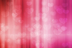 Fond de bokeh de Valentine Photo stock