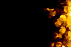 Fond de bokeh du feu Photo libre de droits