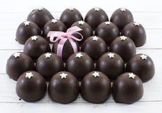 Fond de bonbons au chocolat Image stock